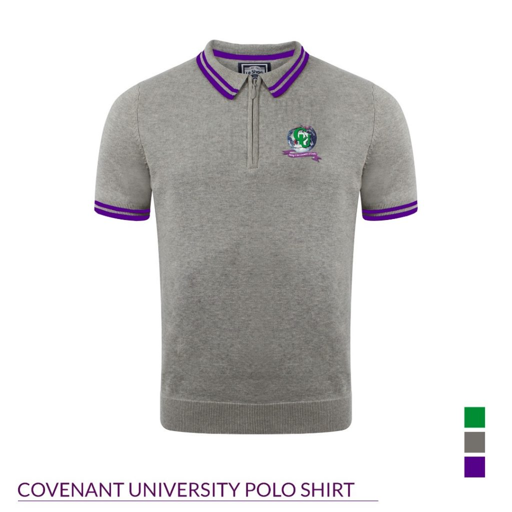 Design of branded shirts for Covenant University