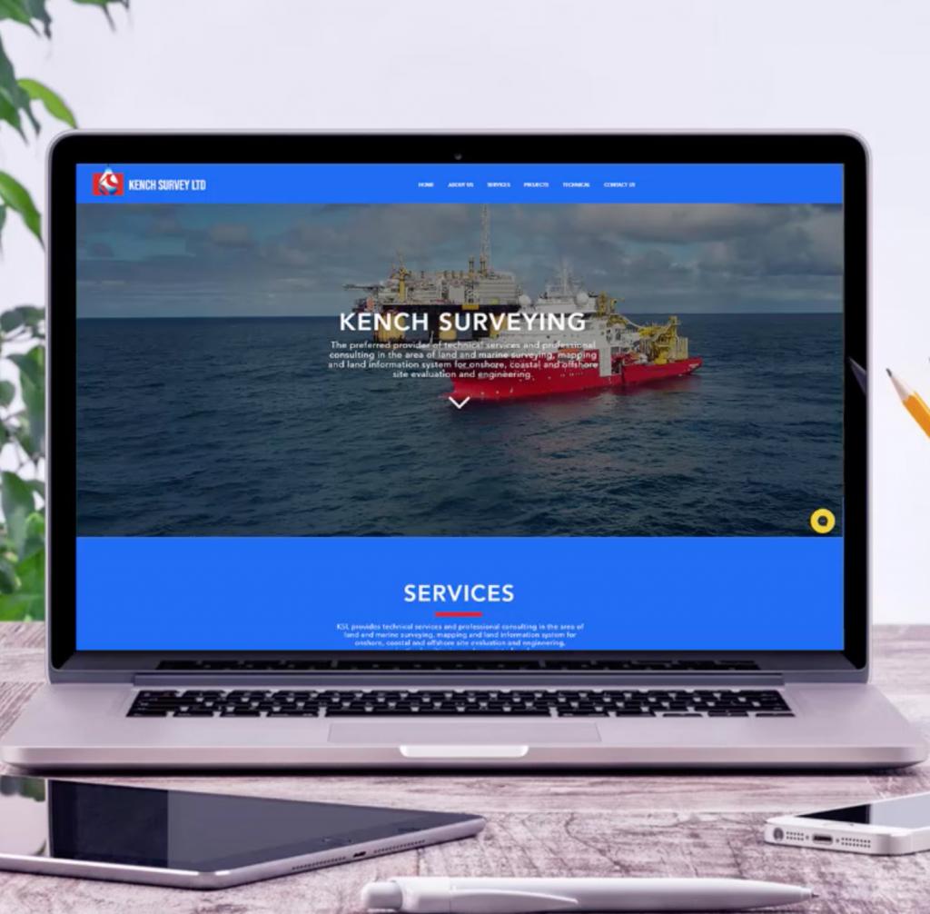 Design of Kench Survey website