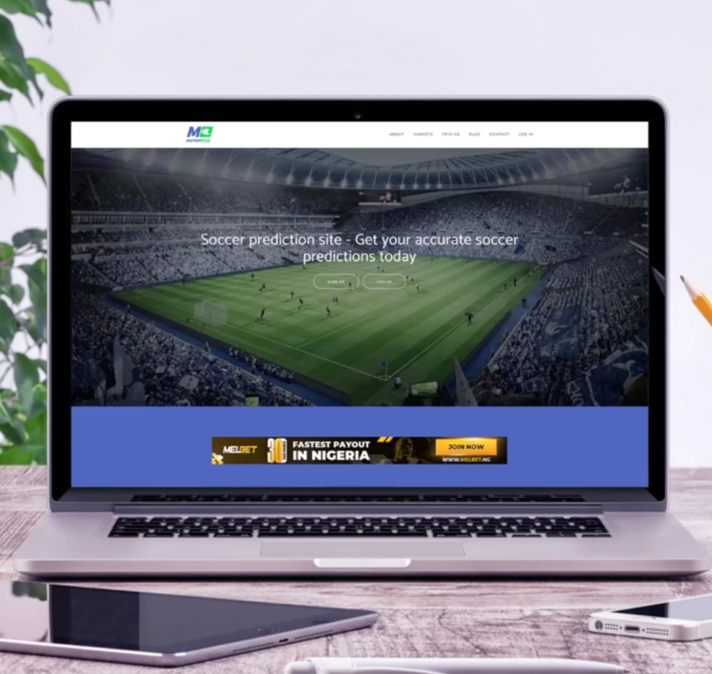 Design of Matchplug webiste