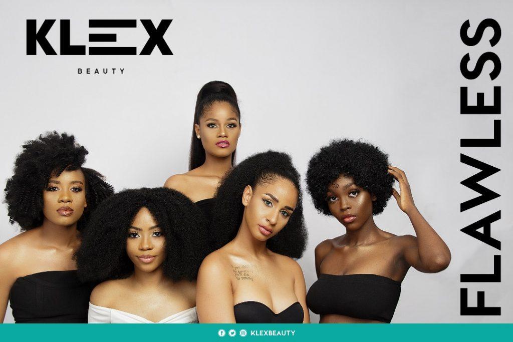 Social media content development for Klex Beauty